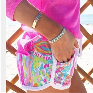 Lilly Pulitzer Chrissy Scuba to Cuba Short, NWOT